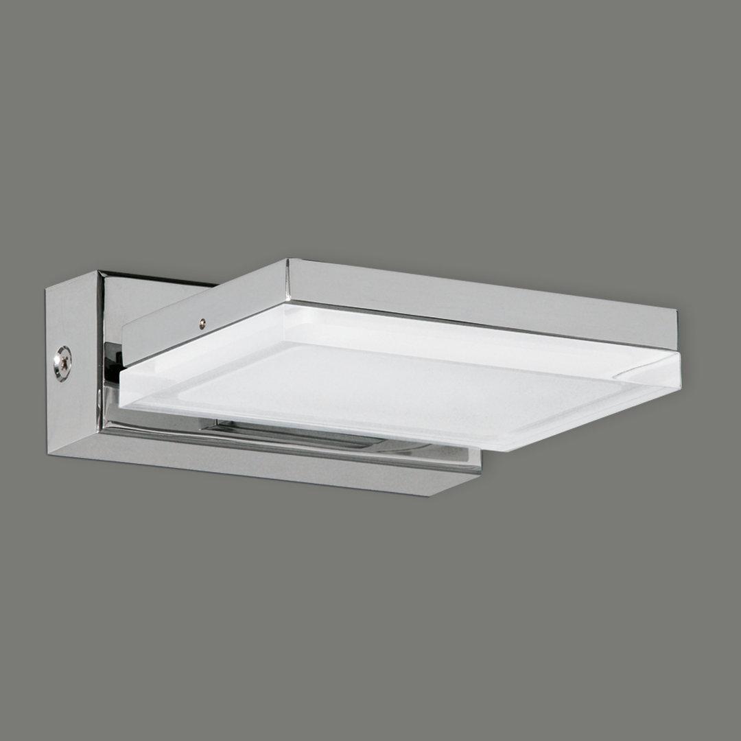 LED-Badezimmer-Wandleuchte Mara in Chrom