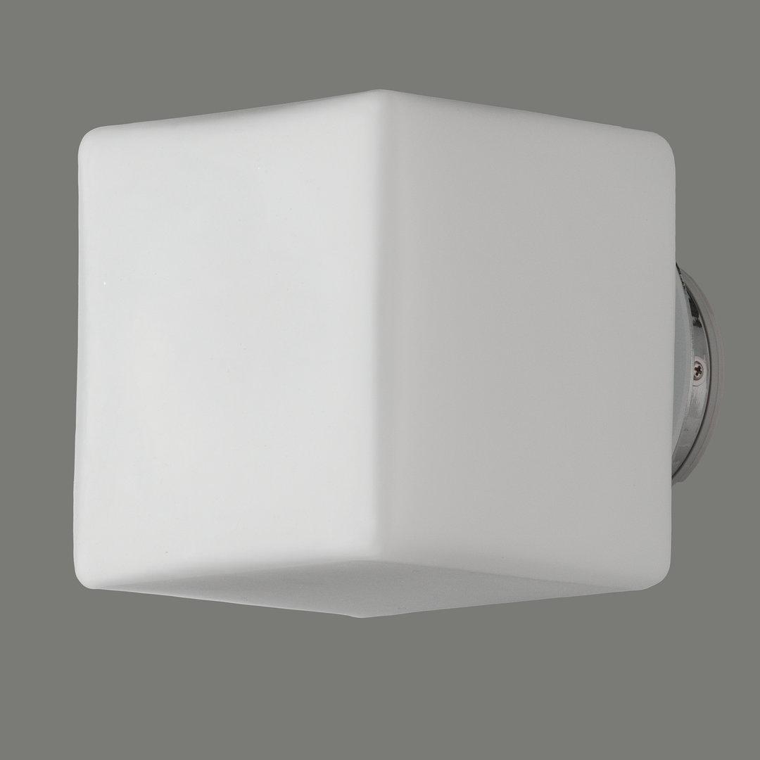 Quadratische LED-Badezimmerleuchte Geal