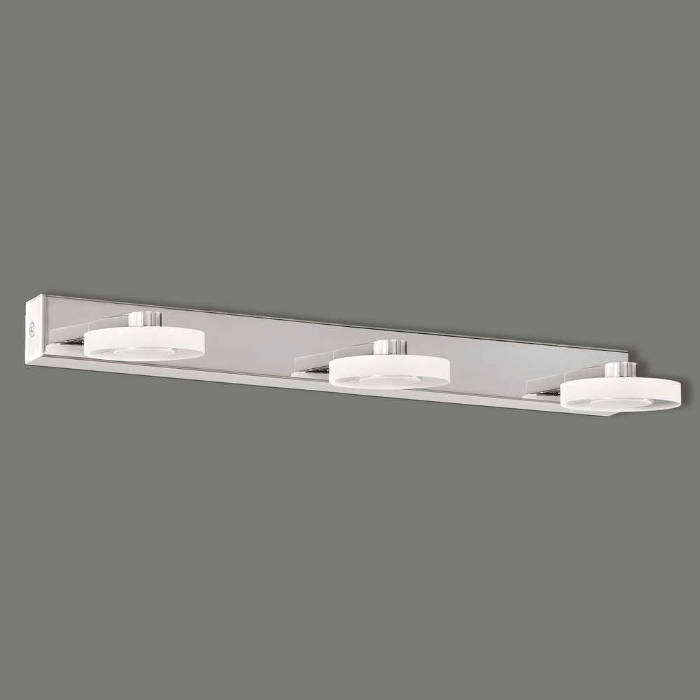 Drei- oder vierflammige LED-Badezimmerleuchte Lux