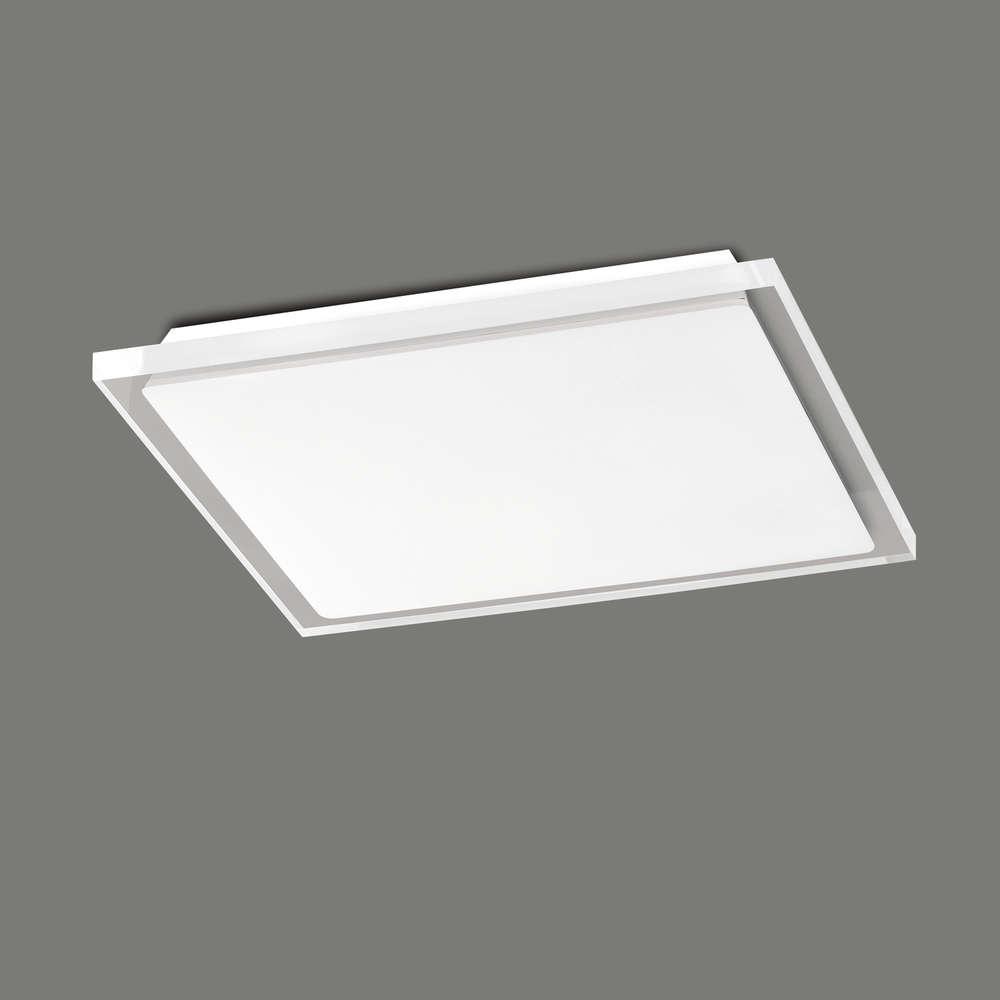 Quadratische LED-Deckenleuchte Pole